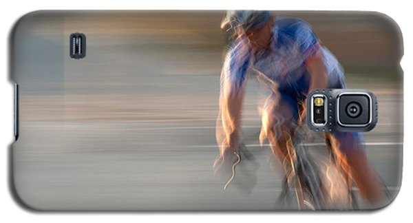 Bike Race 1 Galaxy S5 Case by Catherine Lau