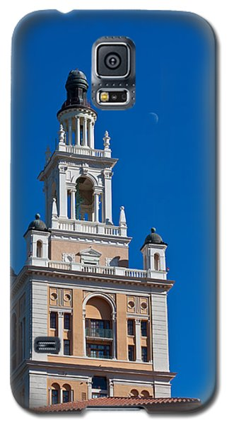Galaxy S5 Case featuring the photograph Coral Gables Biltmore Hotel Tower by Ed Gleichman
