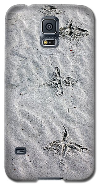 Bird Foot Prints Galaxy S5 Case