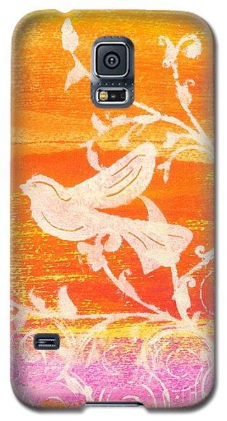 Bird In The Meadow Galaxy S5 Case