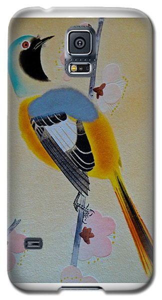 Galaxy S5 Case featuring the photograph Bird Print by Julia Wilcox