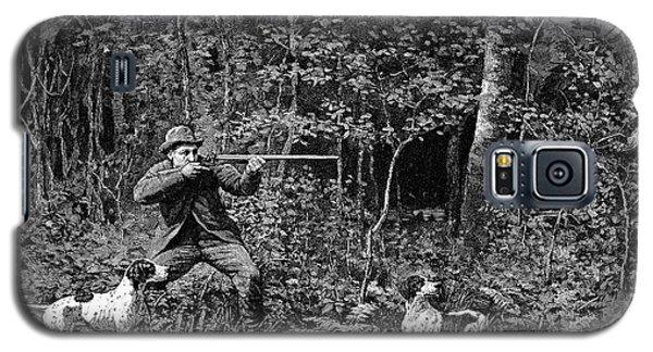 Bird Shooting, 1886 Galaxy S5 Case by Granger