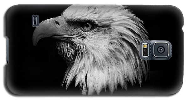 Black And White Eagle Galaxy S5 Case by Steve McKinzie
