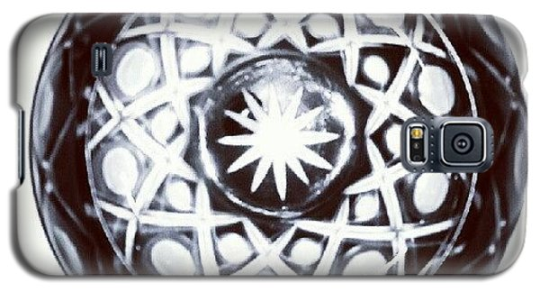 Decorative Galaxy S5 Case - Black And White Glass Bowl. #glass by Kristal Cooper