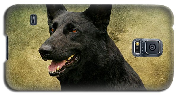 Black German Shepherd Dog IIi Galaxy S5 Case