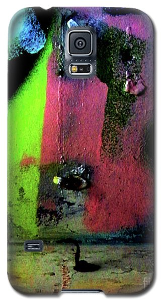 Galaxy S5 Case featuring the photograph Black Light by Newel Hunter