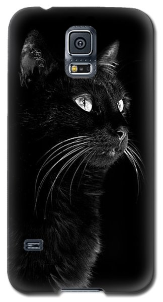 Black Portrait Galaxy S5 Case