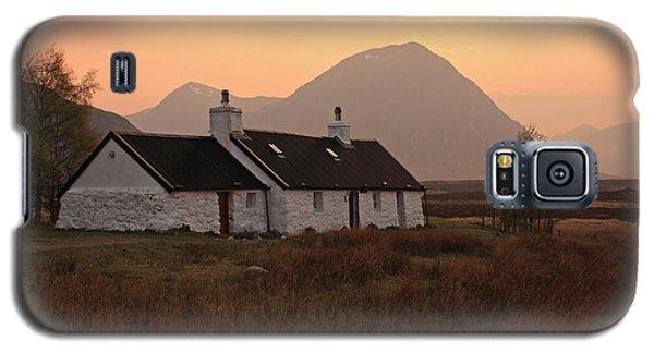 Black Rock Cottage Sunset Galaxy S5 Case