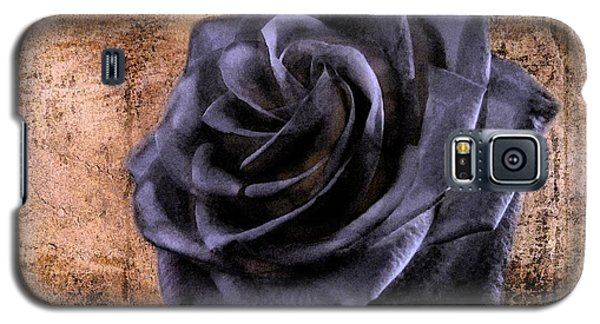 Black Rose Eternal   Galaxy S5 Case