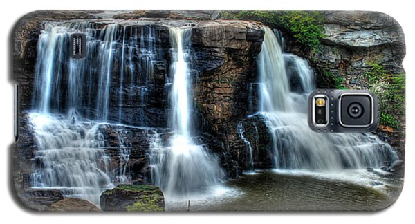 Galaxy S5 Case featuring the photograph Black Water Falls by Mark Dodd