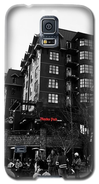 Blacks Pub Whistler Canada Galaxy S5 Case by JM Photography