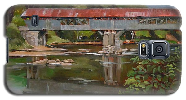 Blair Bridge Campton New Hampshire Galaxy S5 Case by Nancy Griswold