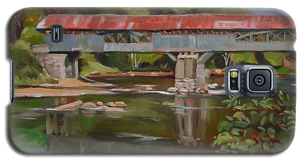 Blair Bridge Campton New Hampshire Galaxy S5 Case