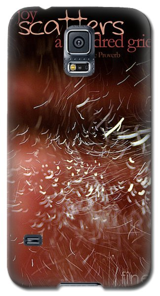 Galaxy S5 Case featuring the photograph Bliss Sprinkle by Vicki Ferrari