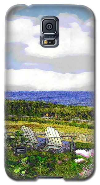 Block Island Sea Chairs Galaxy S5 Case