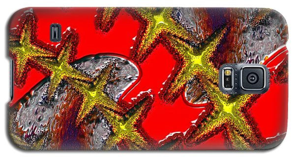 Blood On The Wire Galaxy S5 Case