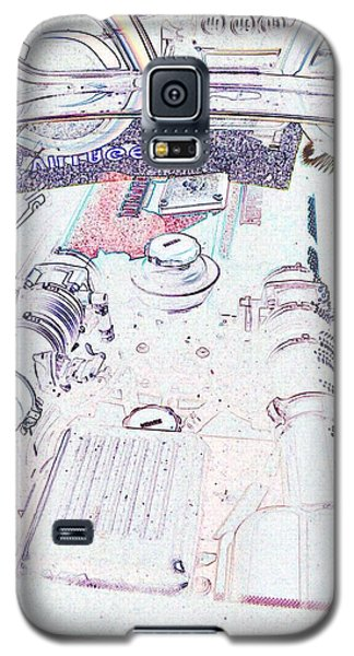 Galaxy S5 Case featuring the photograph Blowers On Edge by Carolina Liechtenstein