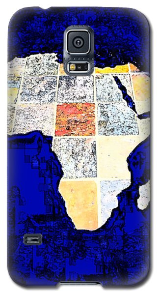 Galaxy S5 Case featuring the photograph Blue Africa by Anne Mott