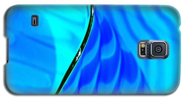 Blue And Green Galaxy S5 Case by Artist and Photographer Laura Wrede