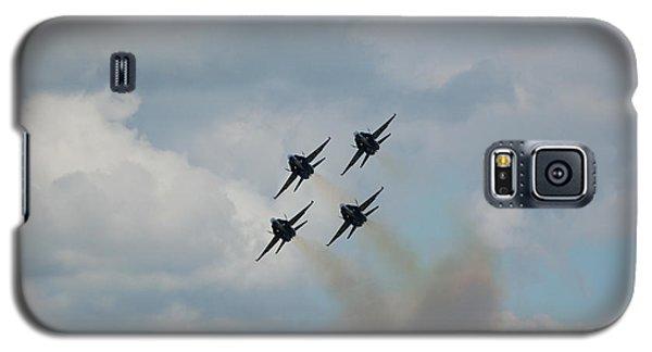 Blue Angels Roaring By Galaxy S5 Case