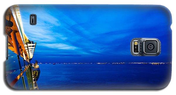Blue At Sea Galaxy S5 Case