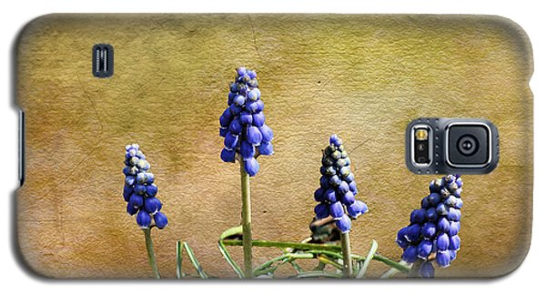 Galaxy S5 Case featuring the photograph Blue Bells by Rick Friedle