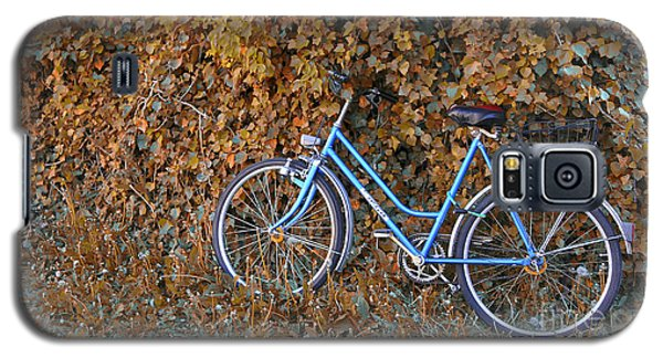 Blue Bike Galaxy S5 Case