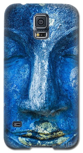 Galaxy S5 Case featuring the photograph Blue Buddha  by Luciano Mortula