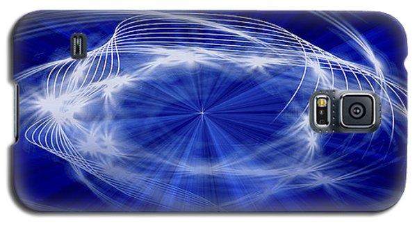 Blue Creation Galaxy S5 Case by Gordon Engebretson