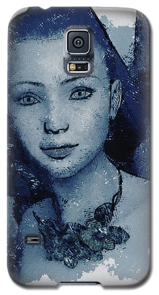 Blue Fae Galaxy S5 Case