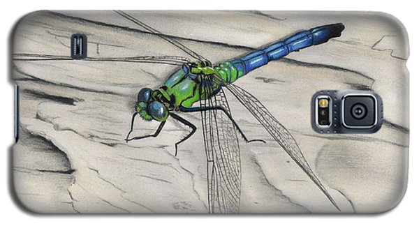 Blue-green Dragonfly Galaxy S5 Case