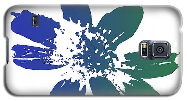 Blue In Bloom Galaxy S5 Case