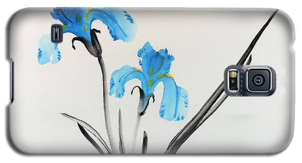 Blue Iris I Galaxy S5 Case by Yolanda Koh