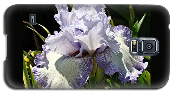 Galaxy S5 Case featuring the photograph Blue Iris by Nick Kloepping