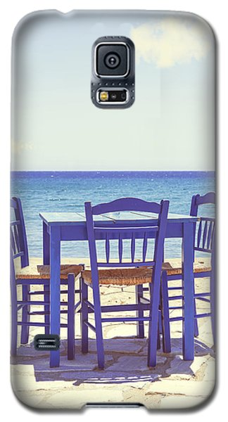 Blue Galaxy S5 Case by Joana Kruse