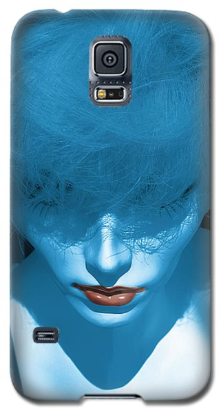 Blue Kiss Galaxy S5 Case by David Pantuso