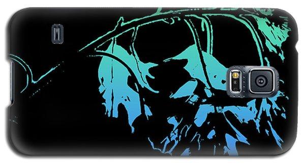 Blue On Black Galaxy S5 Case
