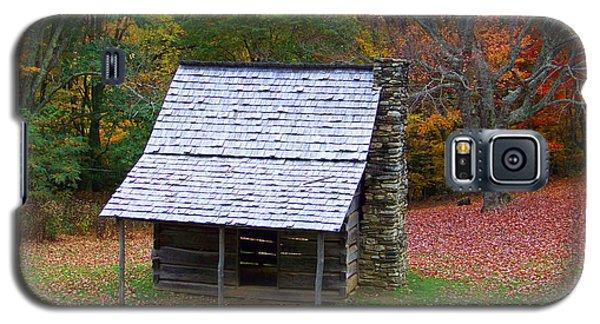Blue Ridge Cabin Galaxy S5 Case