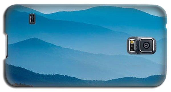 Blue Ridges Panoramic Galaxy S5 Case