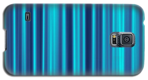 Galaxy S5 Case featuring the digital art Blue Screen by Jeff Iverson