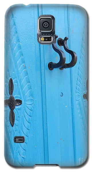 Blue Sidi Bou Said Tunisia Door Galaxy S5 Case