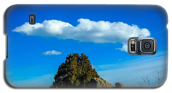 Galaxy S5 Case featuring the photograph Blue Skies by Shannon Harrington