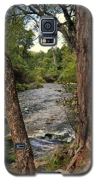 Galaxy S5 Case featuring the photograph Blue Spring Branch by Marty Koch