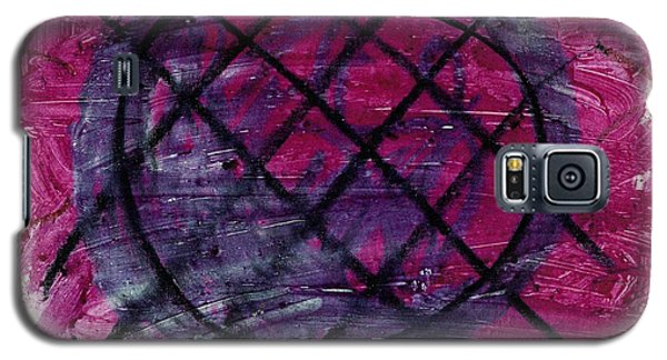 Galaxy S5 Case featuring the drawing Blueberry Pie by Patrick Morgan