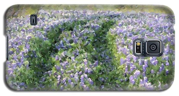 Galaxy S5 Case featuring the photograph Bluebonnet Trail by Donna  Smith