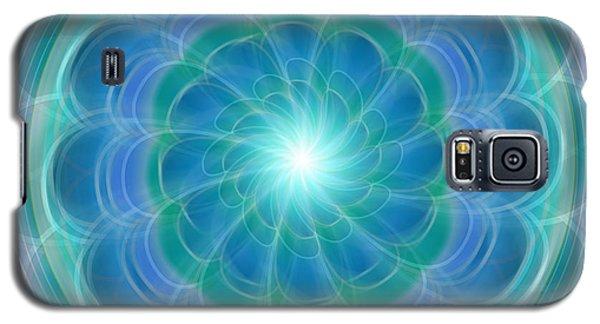 Bluefloraspin Galaxy S5 Case