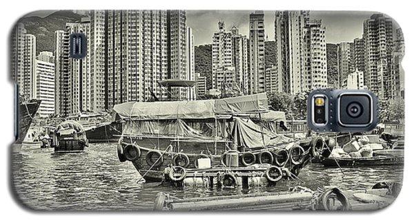 Boat Life In Hong Kong Galaxy S5 Case by Joe  Ng