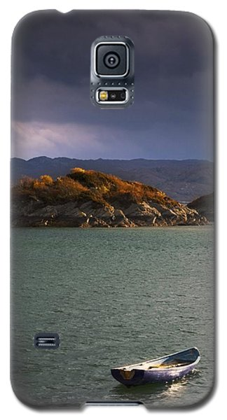 Boat On Loch Sunart, Scotland Galaxy S5 Case