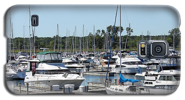 Boats At Winthrop Harbor Galaxy S5 Case