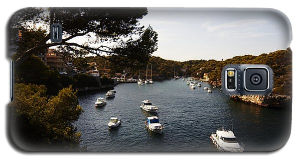 Boats In Cala Figuera Galaxy S5 Case